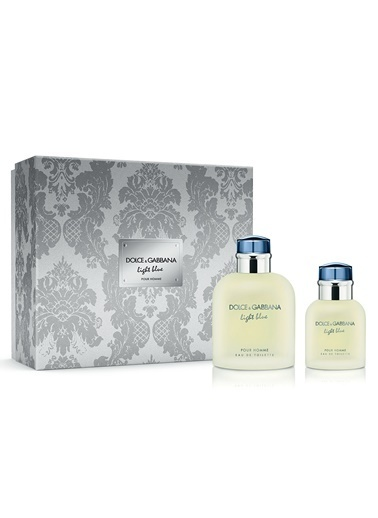 Dolce&Gabbana a Light Blue Edt 125Ml+Edt 40Ml Erkek Parfüm Set Renksiz